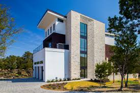 contemporary home exterior features stone stucco hgtv loversiq