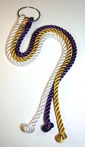 three cords wedding ceremony god s knot ties faith into matrimony with cord of three strands