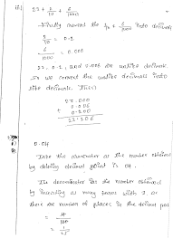 rd sharma class 7 maths solutions chapter 3 decimals exercise 3 1