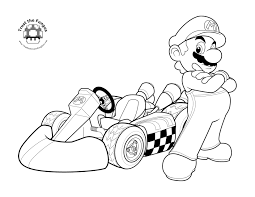 coloring page mario coloring pages new on model free coloring kids