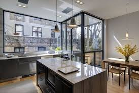 Brooklyn Kitchen Design Interior Design Portfolio Of Modern Kitchen Design With Marble