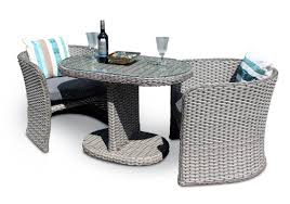 Rattan Bistro Table Excellent Rattan Table And Chairs Cover Asda Garden Bistro