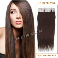 16 inch hair extensions inch 2 brown in human hair extensions 20pcs