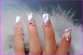 how to make crystal nail art design