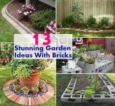 Different Garden Ideas 13 Unique And Stunning Garden Ideas With Bricks Diycozyworld
