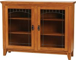 Low Bookcases With Doors Cherry Bookcase With Doors Foter Inside Low Bookcase With Doors