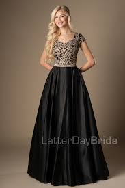 modest prom dress emily front black jpg sunday best pinterest