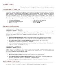 job objective for administrative assistant u2013 template design