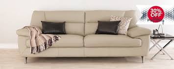Large Leather Sofa Leather Sofas Buy Online Or Click And Collect Leekes
