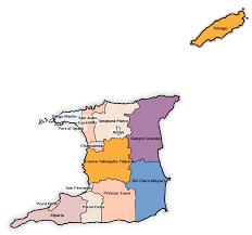 Flag For Trinidad And Tobago Regional Corporations And Municipalities Of Trinidad And Tobago