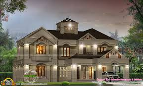 Colonial Luxury House Plans Colonial Style Home Design In Kerala Home Style