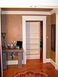 Secret Closet Door Secret Room Bookshelf Door On Casters No Fancy Hinges