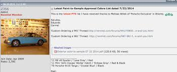 fyi 2014 paint to sample list much more extensive than