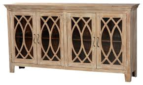 modern glass buffet cabinet incredible 815 solid wood glass door sideboard 4 door rustic buffet