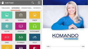 podcasts on android komando on demand podcasts with this android player komando