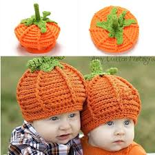 Halloween Gifts For Boys by Infant Handmade Knitted Photography Props Cute Baby Pumpkin Design