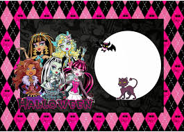 Halloween Free Printable Cards Monster High Halloween Special Free Printable Kit Is It For