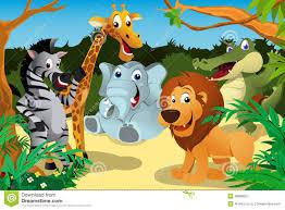 wild animals jungle clipart clipartxtras