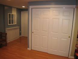Installing A Closet Door Hanging Sliding Closet Doors On Barn Door Track Let