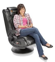 Lumisource Game Chair X Rocker Pro Series 51396 Video Gaming Chair