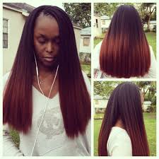 ombre crochet hairstyles tree braids with ombré braiding hair tree braids pinterest