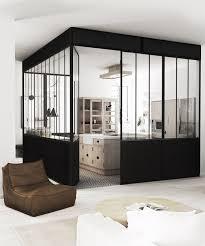 cloison vitree cuisine salon la verrière dans la cuisine 19 idées photos architecture