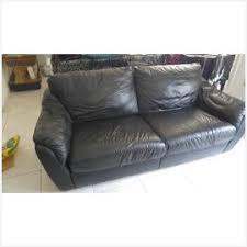 canapé noir simili cuir populairement ikea canape cuir d occasion