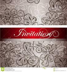 Invitation Cards Design Elegant Invitation Card For Design Royalty Free Stock Photography