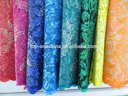 tulle fabric wholesale top one china 3d tulle lace fabric fashion embroidered