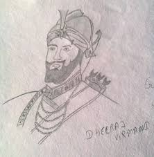 pencil sketch of guru gobind singh ji desipainters com