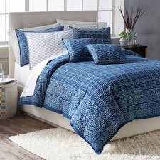 hand block printed indigo bedding national geographic store ralph