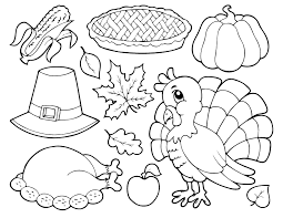 brown thanksgiving coloring pages getcoloringpages