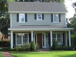 exterior paint colors with brown roof google search home