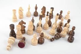 madeheart u003e unusual handmade wooden chessmen chess pieces board