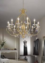 Florian Crystal Chandelier Kolarz Lighting Kolarz Lighting Collection Kolarz Lights