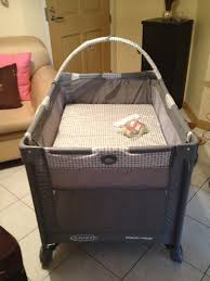 Graco Baby Crib by Baby U0027s New Crib Graco Pack N Play My Life Unexpected