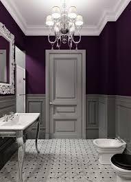 Grey White And Purple Bathroom Purple Bathroom Lightandwiregallerycom Realie