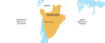 Rwanda World Map by Burundi European Commission