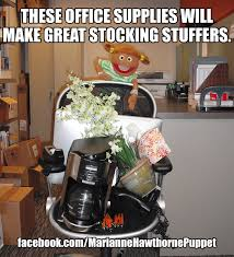 Stocking Meme - these office supplies will make great stocking stuffers christmas