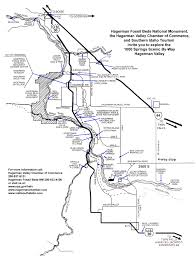 Map Of Monument Valley Maps Hagerman Fossil Beds National Monument U S National Park