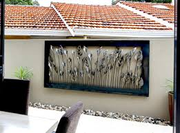 wall ideas design exterior complements large outdoor wall