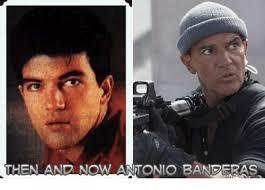 Banderas Meme - then and now antonio banderas meme on me me