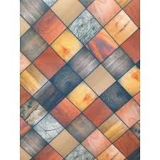 tappeti a metraggio tappeto con mosaici effetto legno al taglio a metro brico casa