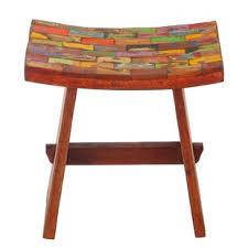 reclaimed wood counter stool wayfair