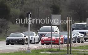 corvette vs audi r8 2014 chevrolet corvette stingray testing with audi r8