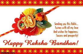 sending you this rakhi twiners with all my and wishes for