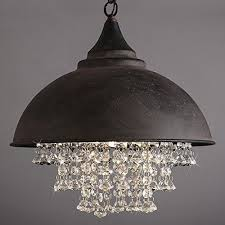 black crystal pendant light onepre modern vintage crystal pendant light industrial retro kitchen
