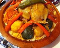cuisine marocaine traditionnelle couscous recettes de couscous