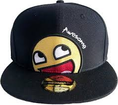 Meme Snapback - moodrush awesome smiley snapback meme cap hat emoticon smiley