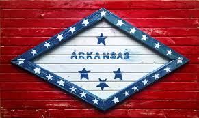 Americana Flags Wooden Arkansas State Flag Americana Don Byram Art